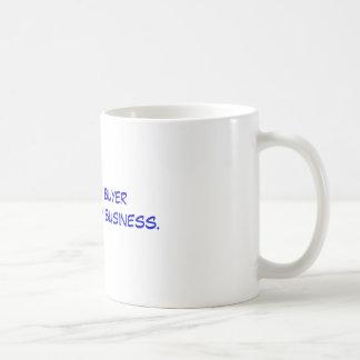 私は薬学のバイヤーです購買の薬剤が私のビジネスの コーヒーマグカップ