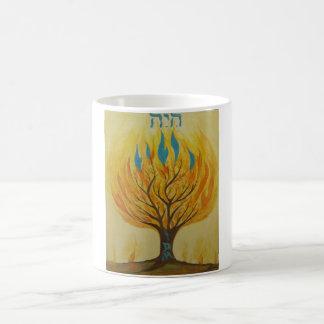 私は薮を水彩画燃やしています コーヒーマグカップ