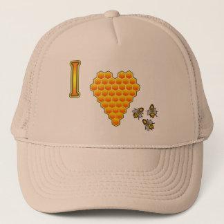 私は蜂の帽子を愛します キャップ
