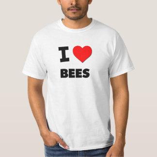 私は蜂を愛します Tシャツ