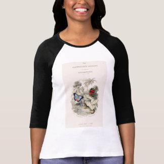 私は蝶およびガを愛します Tシャツ
