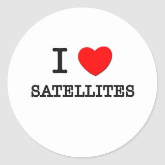 私は衛星を愛します ラウンドシール