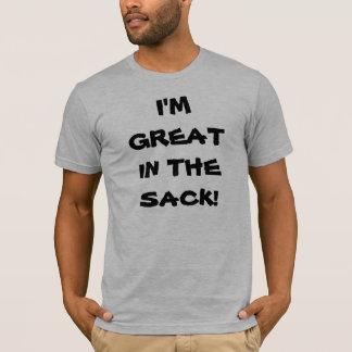私は袋で素晴らしいです! Tシャツ