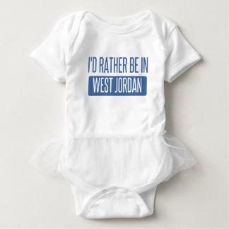 私は西のヨルダンにむしろいます ベビーボディスーツ