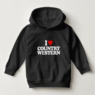 私は西部国を愛します パーカ