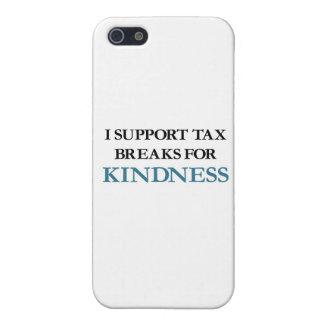 私は親切さのための税額控除を支えます iPhone 5 カバー