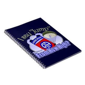 私は言いますジャンプ[第82空輸] ノートブック
