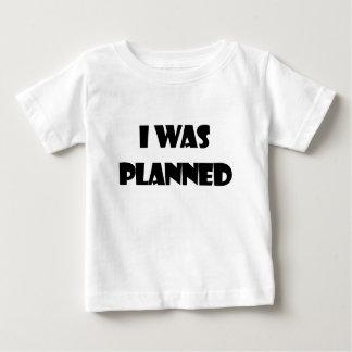私は計画されました ベビーTシャツ
