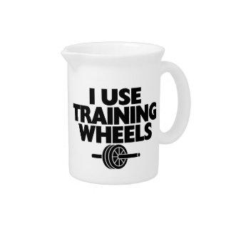 私は訓練車輪を使用します ピッチャー