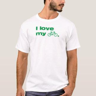 私は記号を用いる私のバイクを愛します Tシャツ