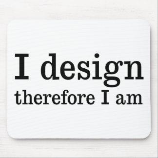 私は設計します マウスパッド