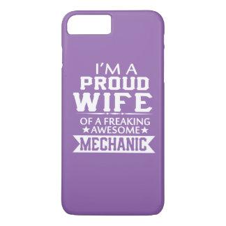 私は誇り高い整備士の妻です iPhone 8 PLUS/7 PLUSケース