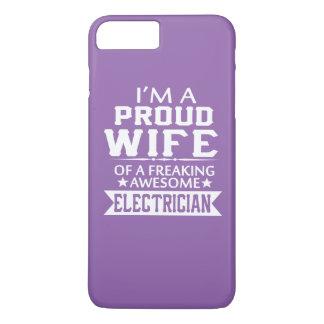 私は誇り高い電気技師の妻です iPhone 8 PLUS/7 PLUSケース