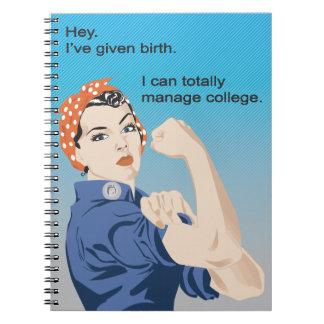 私は誕生を…与えました ノートブック