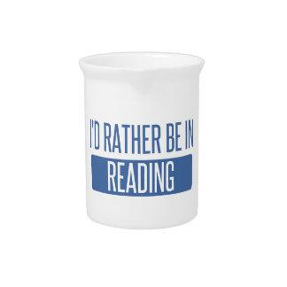 私は読書にむしろあります ピッチャー