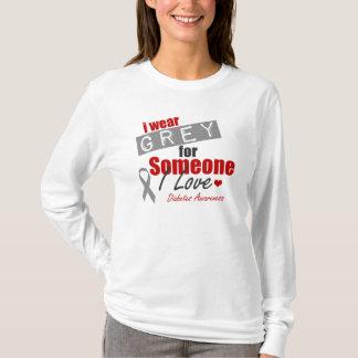 私は誰かのための灰色をI愛身に着けています Tシャツ