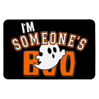 私は誰かブーイングの幽霊のハロウィンの磁石です マグネット