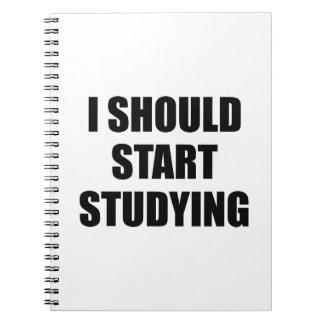 私は調査し始めるべきです ノートブック