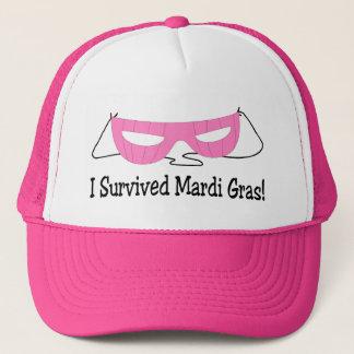 私は謝肉祭のピンクのマスクを生き延びました キャップ
