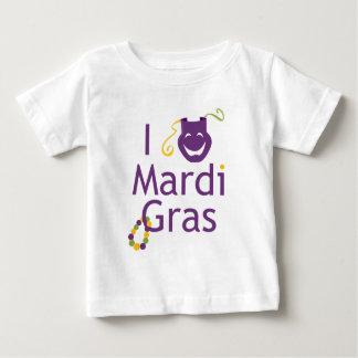 私は謝肉祭の幼児のTシャツを愛します ベビーTシャツ