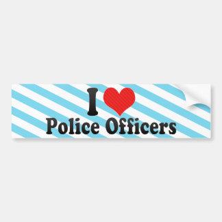 私は警官を愛します バンパーステッカー