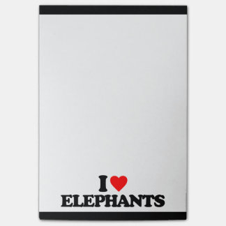 私は象を愛します ポストイット