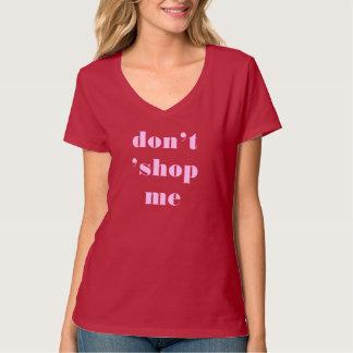 「私は買物をしません Tシャツ