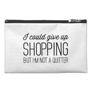 私は買物をすることを与えることができますが、憶病者ではないです トラベルアクセサリーバッグ