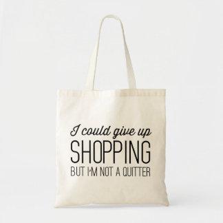 私は買物をすることを与えることができますが、憶病者ではないです トートバッグ