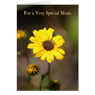 私は賛美された母の日カードと電話します カード