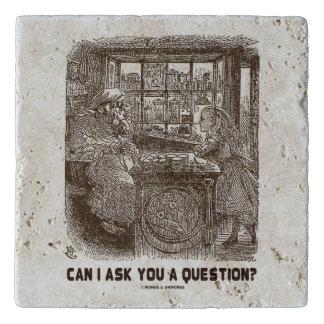 私は質問をしてもいいですか。 アリスのヒツジの不思議の国 トリベット