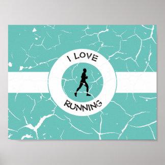 私は走ることを愛します ポスター