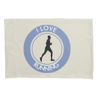私は走ることを愛します 枕カバー