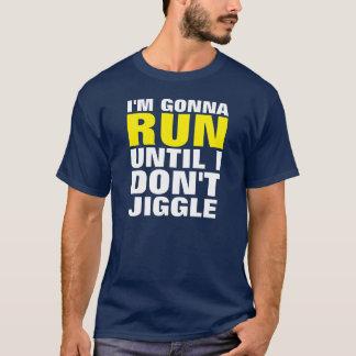 私は走ろうと思っています。 Tシャツ大晦日の決断の Tシャツ