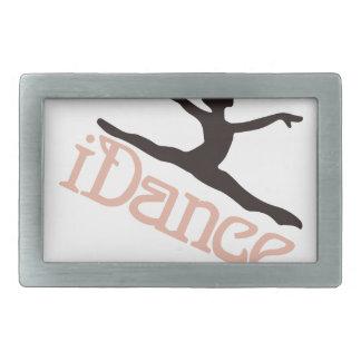 私は踊ります 長方形ベルトバックル