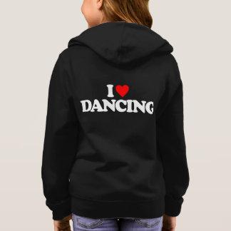 私は踊ることを愛します スウェットシャツ