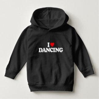 私は踊ることを愛します パーカ