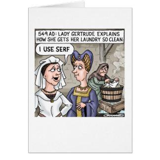 私は農奴を使用します カード