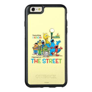 私は通りで学びました オッターボックスiPhone 6/6S PLUSケース