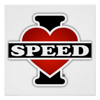 私は速度を愛します ポスター