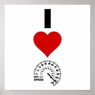私は速度を愛します(縦) ポスター