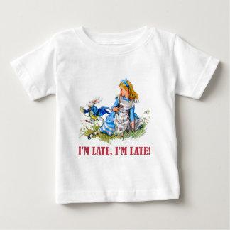 私は遅れます、私遅れます! Aの非常に重要な日付のため! ベビーTシャツ