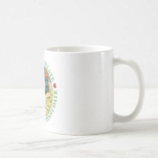 私は遅れます、私非常に重要な日付の間遅れます! コーヒーマグカップ