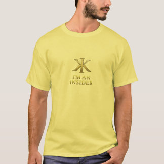 私は部内者の淡色のTシャツです Tシャツ
