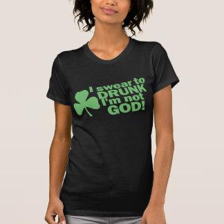 私は酔ったに私ではないです神誓います! St patty's day Tシャツ