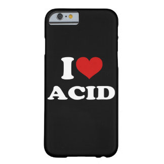 私は酸のiPhone 6/6sを愛します iPhone 6 ベアリーゼアケース