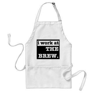 私は醸造物で働きます スタンダードエプロン