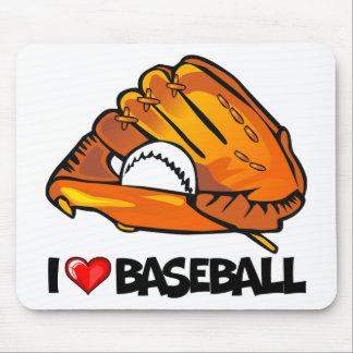 私は野球を愛します マウスパッド