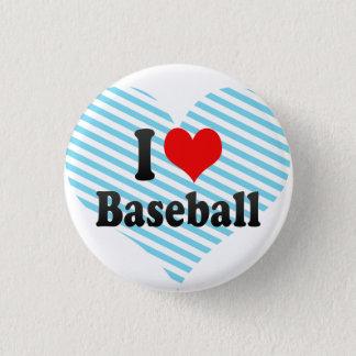 私は野球を愛します 3.2CM 丸型バッジ
