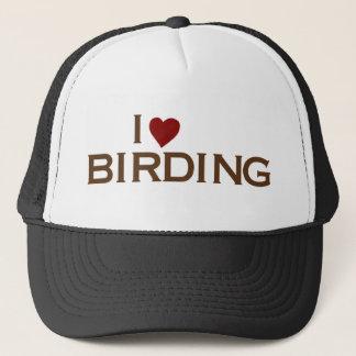 私は野鳥観察を愛します キャップ